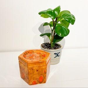 VINTAGE '79 Trinket Ceramic Jewelry Box